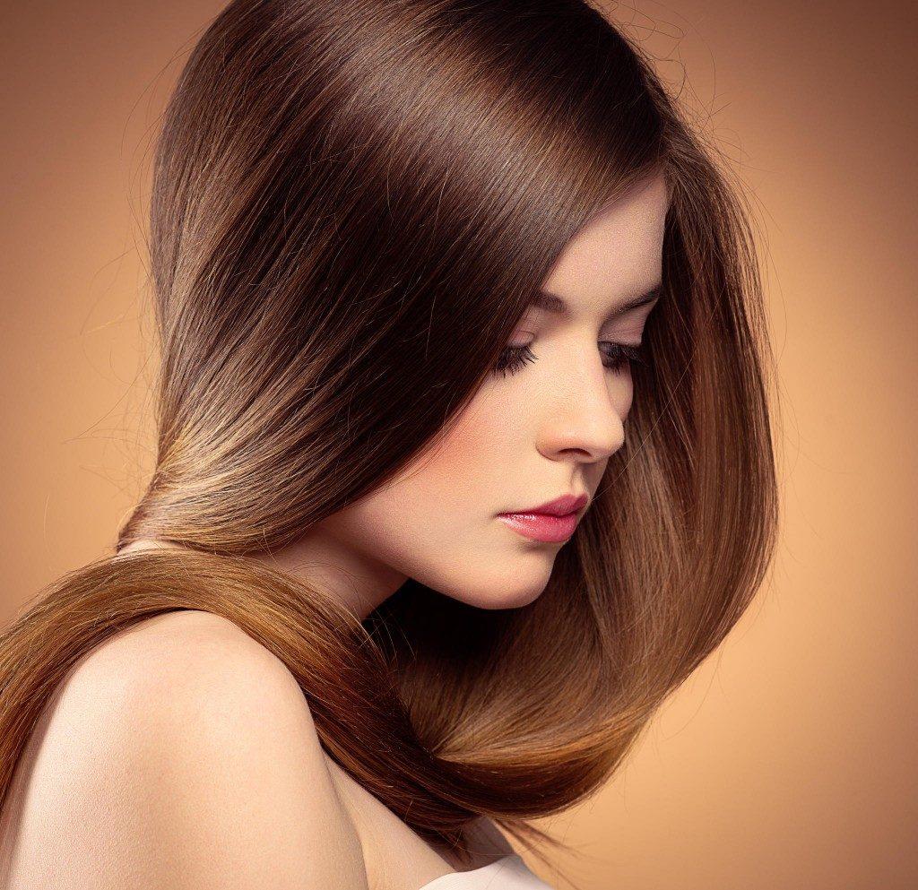 Sữa chua giúp tóc được chăm sóc từ bên trong