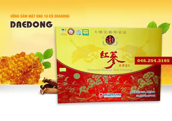 HONEYED-KOREAN-RED -GINSENG-GOLD