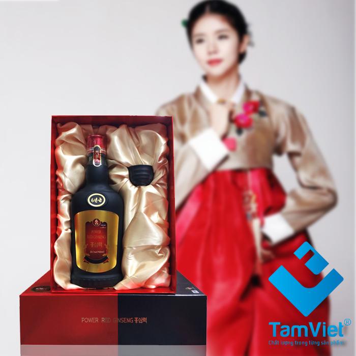 Nước hồng sâm Power Red Ginseng chai 700ml