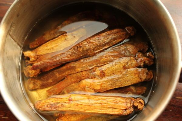 Hồng sâm nguyên củ Hàn Quốc loại 1kg