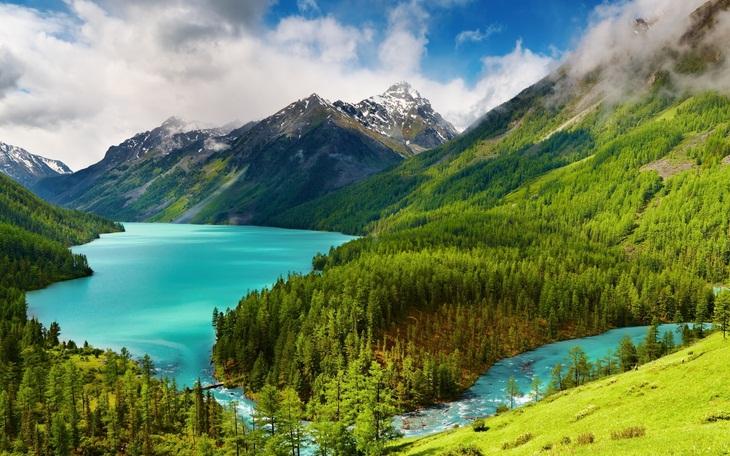 Núi Altai Siberia
