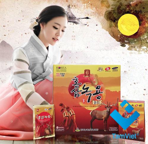 Nước hồng sâm Nhung hươu Gyeongbuk
