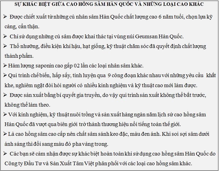 su-khac-biet-cua-cao-hong-sam-han-quoc