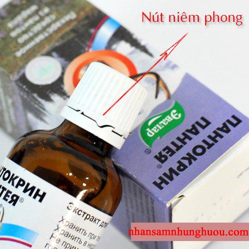 Nhung hươu tinh chất Pantocrin Liên Bang Nga